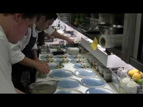 3 Michelin star Oud Sluis at service