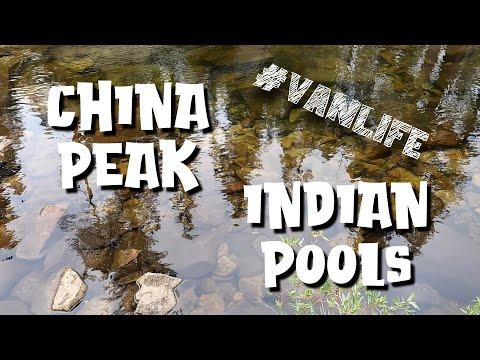 Huntington Lake - DEER CREEK CAMPGROUND - CHINA PEAK - INDIAN POOLS TRAIL - SOLO MALE #VANLIFE