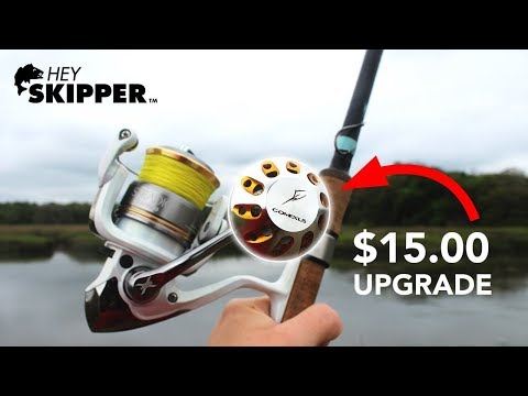 Worth It? $15 Fishing Reel POWER KNOB Upgrade!