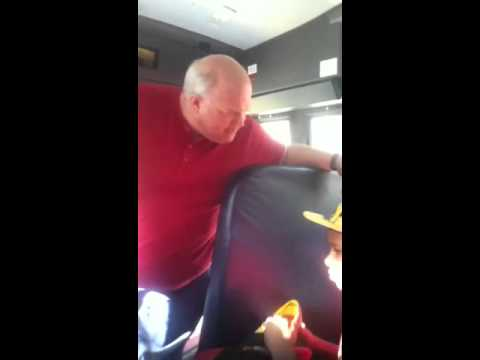 Bus driver goes off on little boy