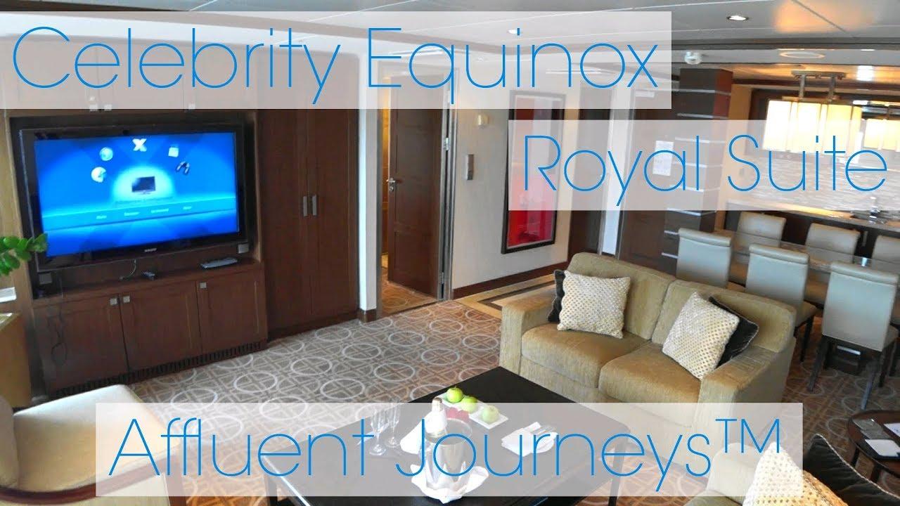 Celebrity Equinox Royal Suite Tour Youtube