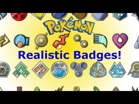 Realistic Pokemon Badges Unboxing!