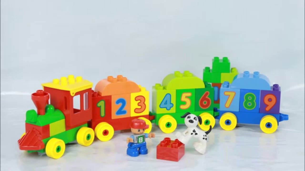 Lego my first number train instructions 10847, duplo.