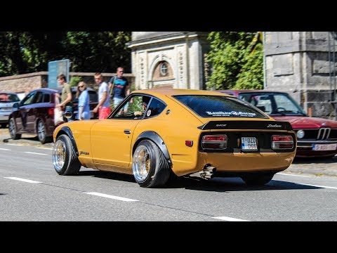 Modified cars leaving a Carshow | Risenation 2018 [Part 1]