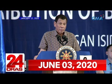 24 Oras Express: June 3, 2020 [HD]
