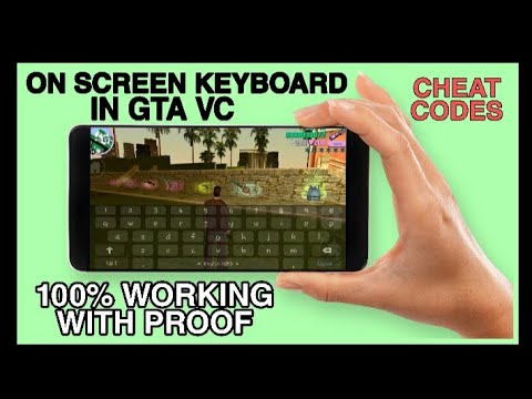 How To Download  Screen Keyboard For Cheats In GTA VC....
