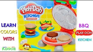 Learn Colors With BBQ PLAY DOH