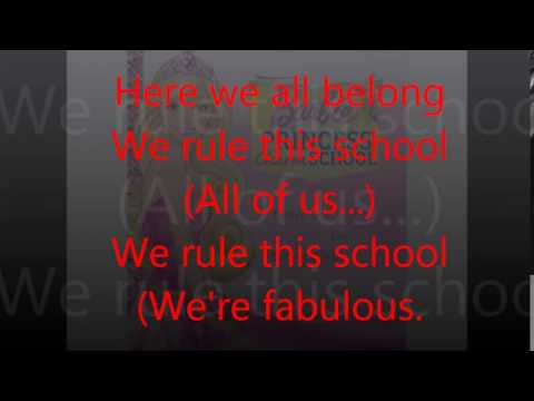 Barbie Princess Charm School - We Rule This School Lyrics