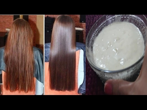 Hair Smoothening At Home-Get Silky Soft Smooth Hair | Hair Mask For Dull Frizzy Damaged Hair