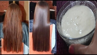 Hair Smoothening at Home-Get silky soft smooth hair | hair mask for dull frizzy damaged hair thumbnail