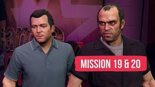 Grand Theft Auto V - Mission 19: Fame or Shame & Mission 20: Scouting the port [PS4 Pro]