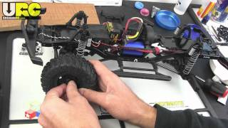 Axial SCX-10 Dingo Kit build part 5