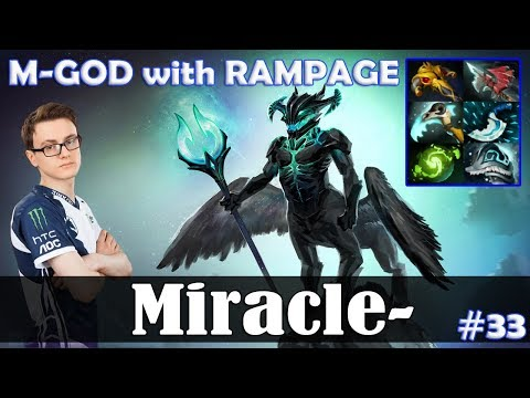 Miracle - Outworld Devourer MID | M-GOD With RAMPAGE | Dota 2 Pro MMR Gameplay #33
