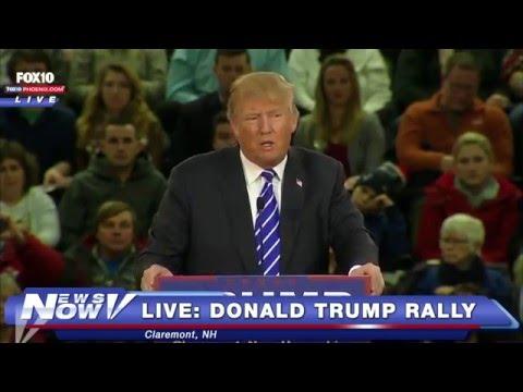 FNN: Obama's Gun Violence Announcement, Donald Trump New Hampshire Rally
