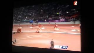 Final du 400m haies JO 2012