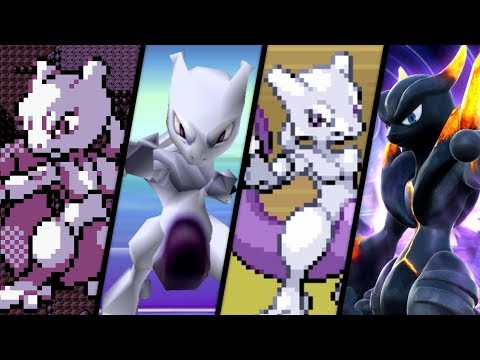 Evolution of Mewtwo Battles (1996 - 2017)