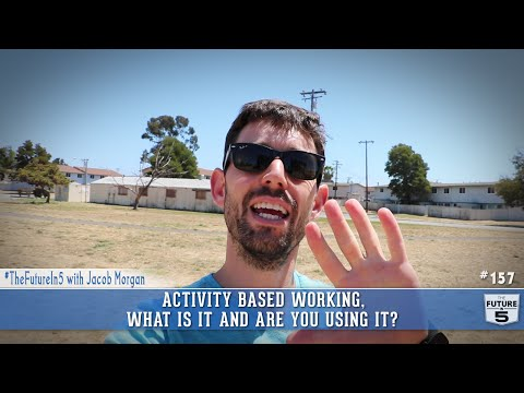 Activity Based Working, What Is It and Are You Using It?
