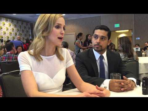 Comic Con 2015: MINORITY REPORTing with Laura Regan and Wilmer Valderrama