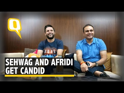 Favourite Opponents, Superstitions & More: Sehwag and Afridi Get Candid