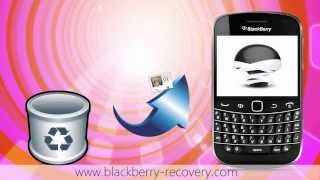 Recover Deleted Contacts from BlackBerry