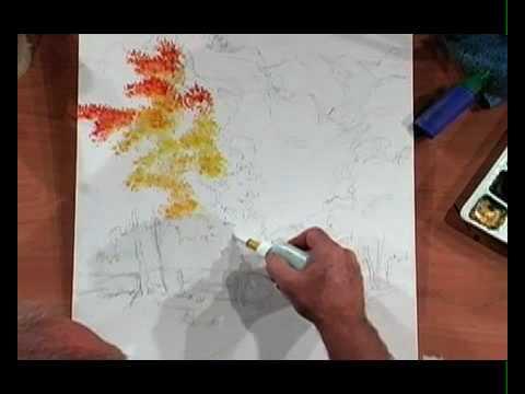 Youtube Art Techniques Tutorial Art Tutorials Watercolor Painting Tutorial