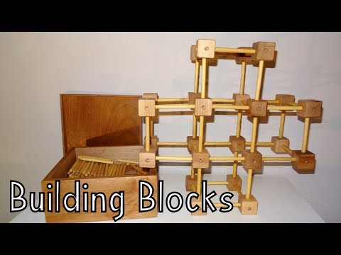 How To Make Wooden Building Blocks - Toys For Charity
