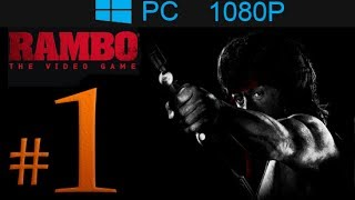 Rambo The Video Game Walkthrough Part 1 [1080p HD] - First 30 Minutes! - No Commentary