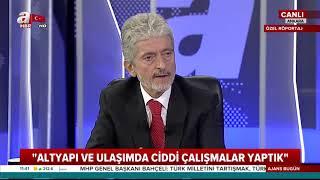 AnkaraBüyükşehir Belediye Başkanı Tuna'dan canlı yayında önemli açıklamalar