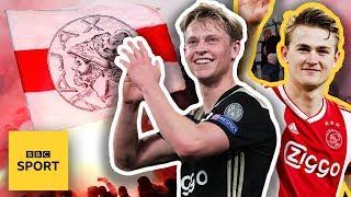 De Jong, De Ligt & Ziyech: How Ajax built a team that could win the Champions League | BBC Sport
