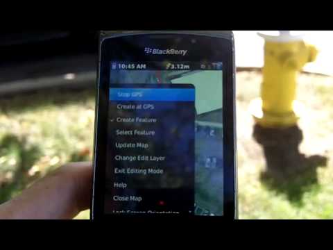 Water Utility ArcGIS Map Editing on Smartphones