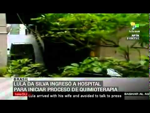 Lula da Silva begins chemotherapy treatment