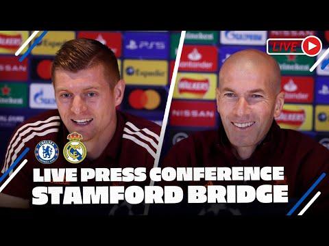 Kroos \u0026 Zidane Press Conference | Chelsea - Real Madrid | Champions League