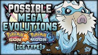 New Mega Evolutions In Pokemon Sun And Moon [Ice Types]