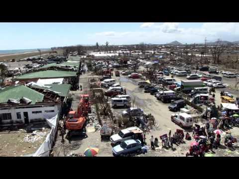 PHILIPPINES!  U.S. Marine Corps -- Operation Damayan -- Tacloban Damage!