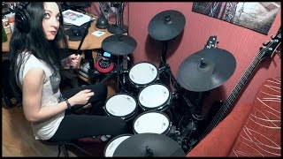 Combichrist - Never Surrender - drum cover