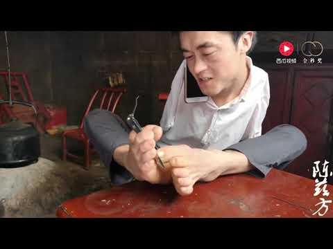 先天无臂,农村小伙陈兹方生活完全自理,还能修剪脚趾甲、掏耳朵