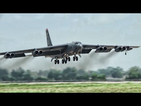 Barksdale's B-52 Bombers In Action