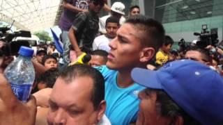Oscar Duarte llega a Nicaragua