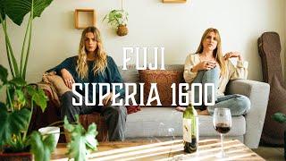 indoor shoot with fuji superia 1600