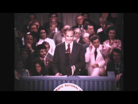 Senator McGovern Nominated at 1972 Convention