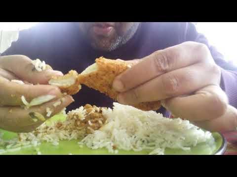 #mukbang #asmr #faddyeats #foodie Rice with chikkar Channa chicken filets #eatingchallenge