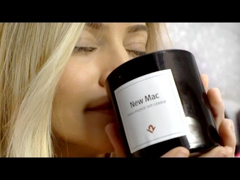 New Mac Scented Candle Smell Test! | iJustine