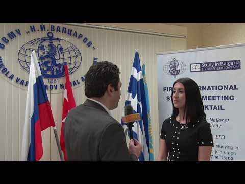 Varna Naval Academy First International Students Meeting