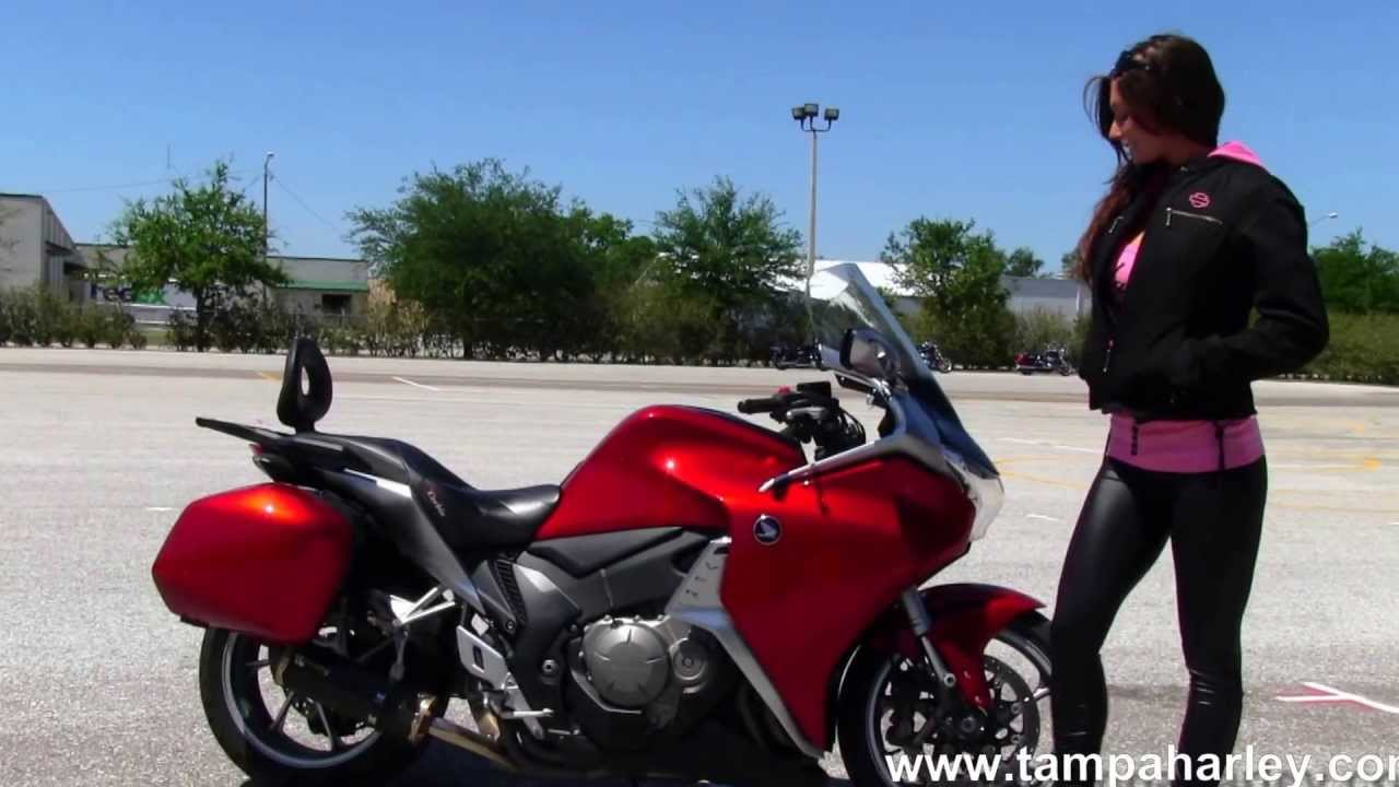 Used Honda Motorcycles >> 2010 Honda VFR1200F Used Motorcycles for Sale - YouTube
