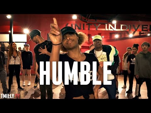 Kendrick Lamar  HUMBLE Choreography  Phil Wright  #TMillyProductions