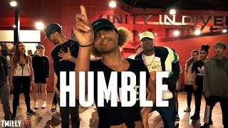 Kendrick Lamar - HUMBLE. Choreography by Phil Wright - #TMillyProductions - Stafaband