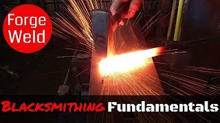 How to Forge Weld Metal by Hand // The Blacksmithing Fundamentals You Need to Know