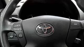 Toyota Avensis T25 - Cum Dezactivezi Alarma Pentru Centura