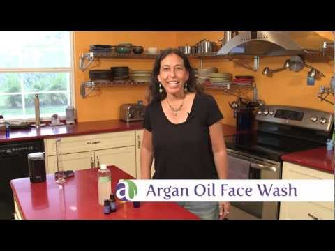 aromatherapy-recipes:-make-your-own-argan-oil-face-wash