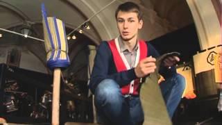 Смотреть видео Телеканал «Санкт Петербург»   Новости   В Петербурге показали испытание самурайских мечей, лето 2012 онлайн
